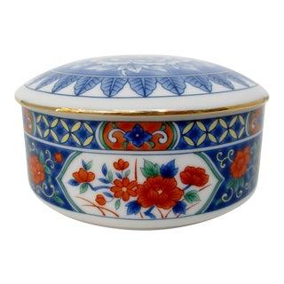 Porcelain Imari Lidded Bowl