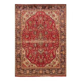 """Apadana - Persian Tabriz Rug, 6'7"""" x 9'5"""""""