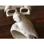 Image of Bone China Owl Napkin Rings - Set of 4