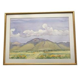 Robert Fletcher Framed Watercolor