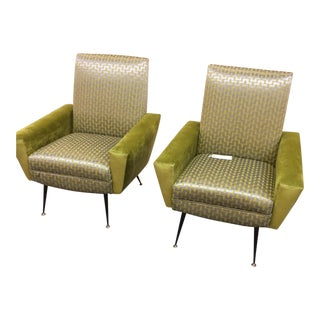 Gianfranco Frattini Armchairs - A Pair