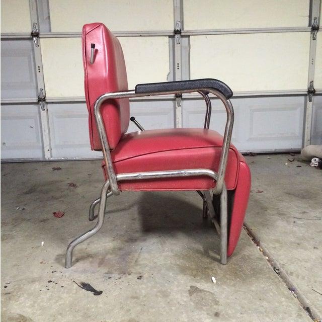 Vintage Reclining Salon Shampoo Chair - Image 7 of 7
