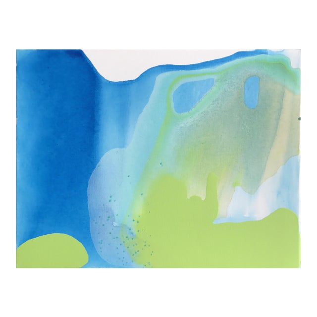 Blue Green Painting by Matthew Izzo - Image 1 of 4