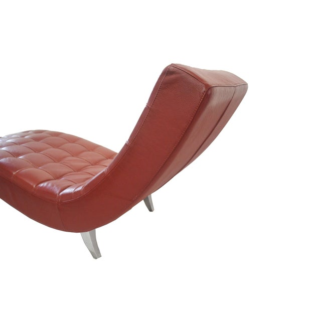 Vintage roche bobois chaise lounge chairish for Chaise roche bobois