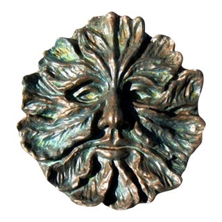 Greenman Plaque Wall Sculpture