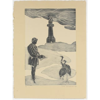 Lighthouse Scene by Rob Delamater, 2009