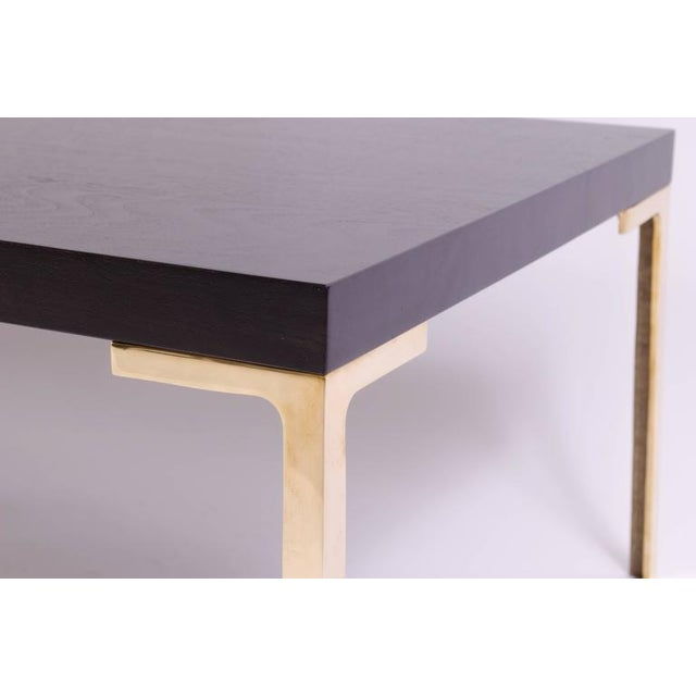 Astor Cocktail Table in Ebonized Walnut by Montage - Image 6 of 6