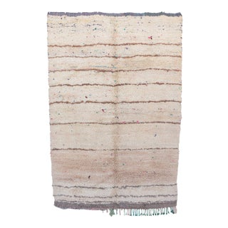 "Azilal Vintage Moroccan Rug, 5'6"" x 8'0"" feet / 167 x 245 cm"