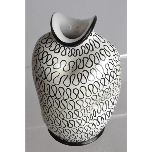 Image of Italian Pottery Pinch Vase