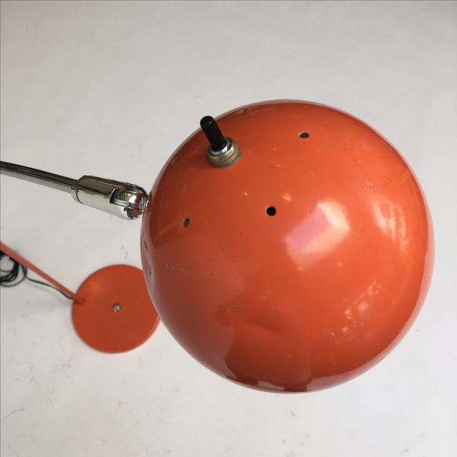 Vintage Orange Arc Lamp - Image 5 of 11