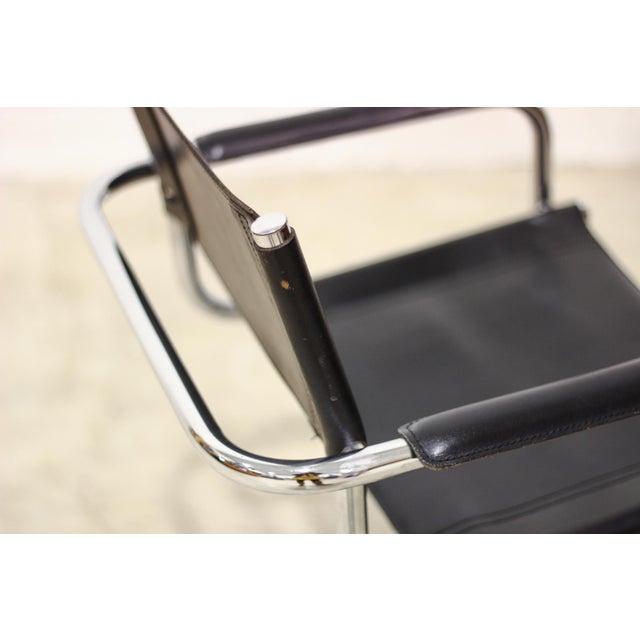 Tubular Chrome Cantilever Chair - Image 5 of 5