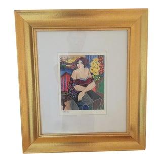 "Patricia Govezensky ""Mary"" Limited Edition Serigraph"