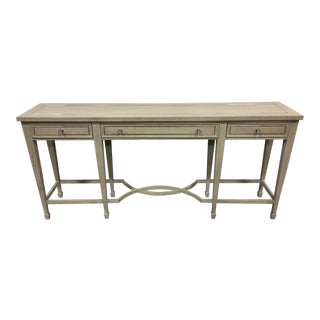 Bernhardt 3-Drawer Console Table