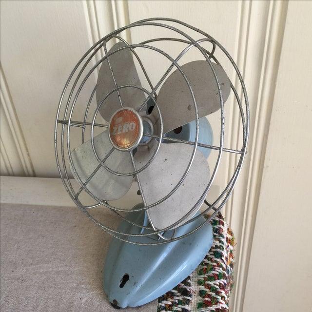 Vintage Mid-Century Oscillating Fan - Image 8 of 8