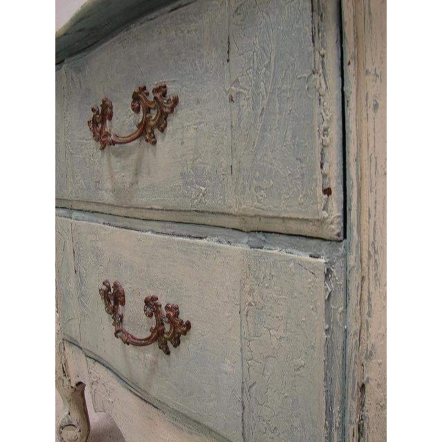 Old World French Provincial Two-Drawer Nightstand - Image 7 of 7