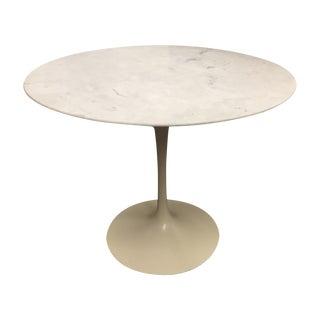 Vintage Marble Saarinen Knoll Tulip Table