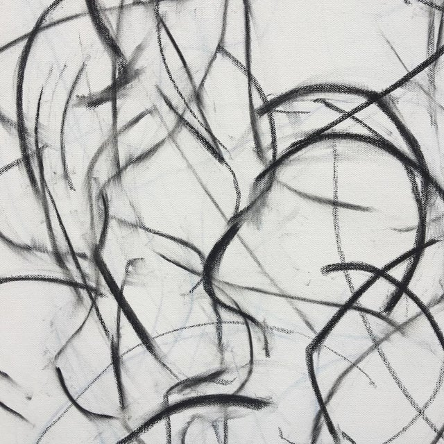 Polo Player Movement II Abstract Drawing - Image 2 of 5