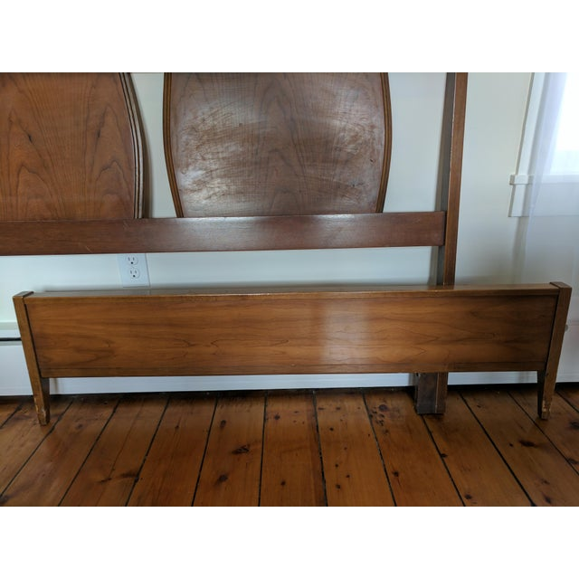 Image of Vintage Mid-Century Modern Full/Queen Headboard