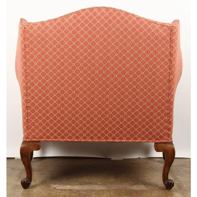 Finely Carved English Victorian Upholstered Settles - Image 8 of 8