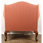 Image of Finely Carved English Victorian Upholstered Settles