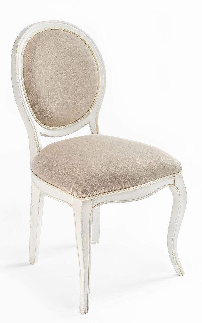 Sarreid LTD Transitional Oval Back Side Chair