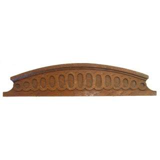 French Architectural Carved Wooden Element
