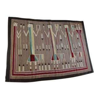 Early Navajo Yei Weaving