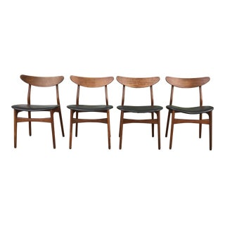 Vintage Modern Dining Chairs - Set of 4