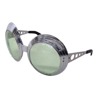 Op Pop Mod 1960s French Fashion Sunglasses