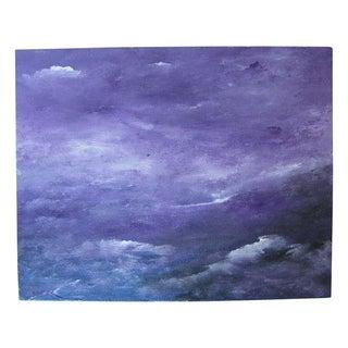 """Seascape"" Acrylic Painting"