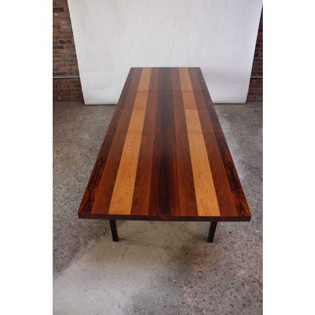 Directional Mixed-Wood Dining Table by Milo Baughman - Image 8 of 11