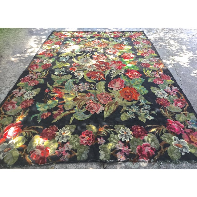 "Antique Bessarabian Rug - 7'10"" x 13' - Image 2 of 10"