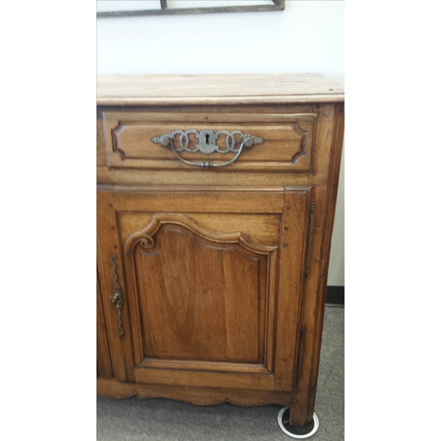 Image of 17th Century Walnut French Buffet