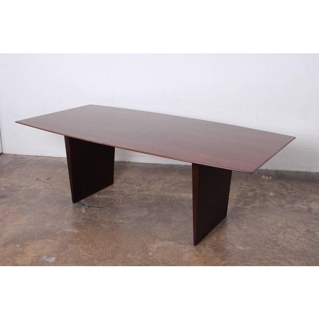 Large Walnut Dining Table by Edward Wormley for Dunbar - Image 8 of 10