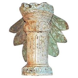 Column & Acanthus Leaves Shabby Chic Door Knocker