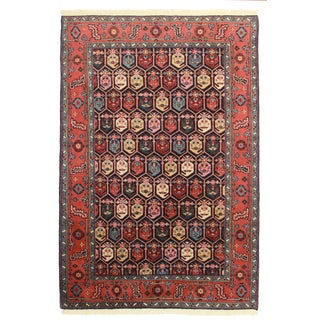 Hand Knotted Wool Rug - 6' x 8'9""