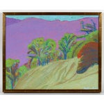 "Image of ""Pine Ridge Fauve"" Mendocino Painting"