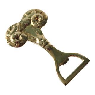 Brass Ram Bottle Opener
