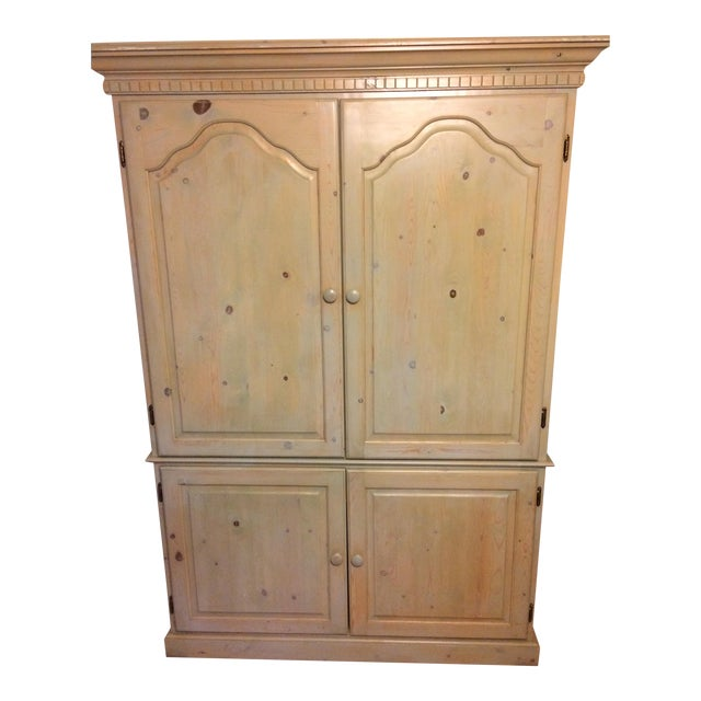 Fold Out Desk Armoire Chairish