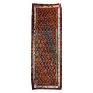 20th Century Kazvin Kilim Carpet