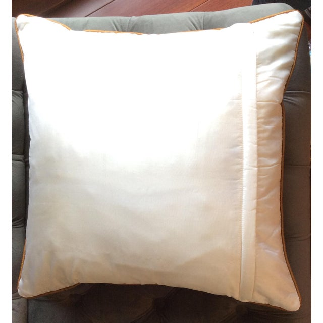 Luxury Silk Embroidered Pillow Cover Chairish