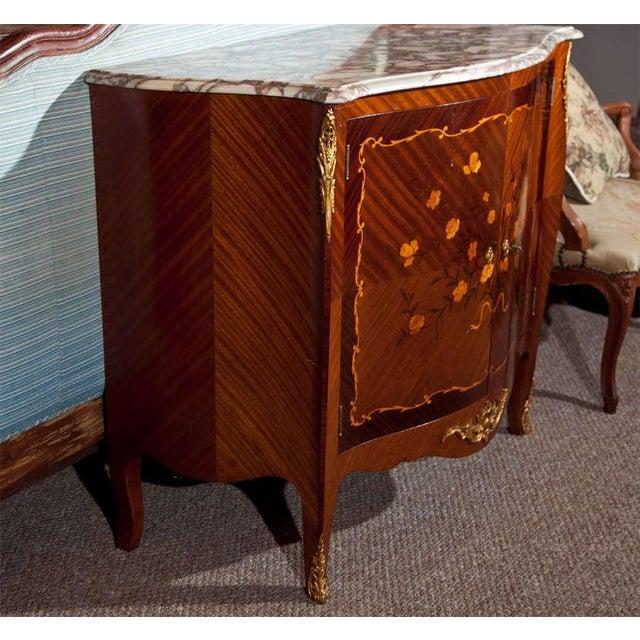 French Style Mahogany Bar Cabinet - Image 9 of 10