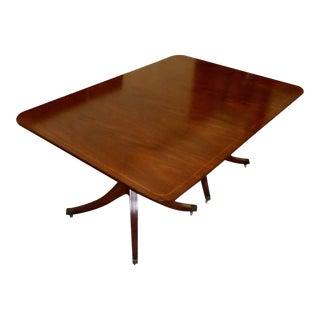 Regency Style Mahogany Dining Table by Baker