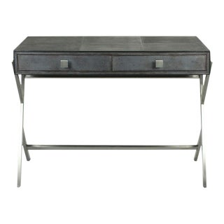 Sarreid Ltd Grey Shagreen Desk
