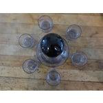 Image of Purple Glasses & Carafe - Set of 7