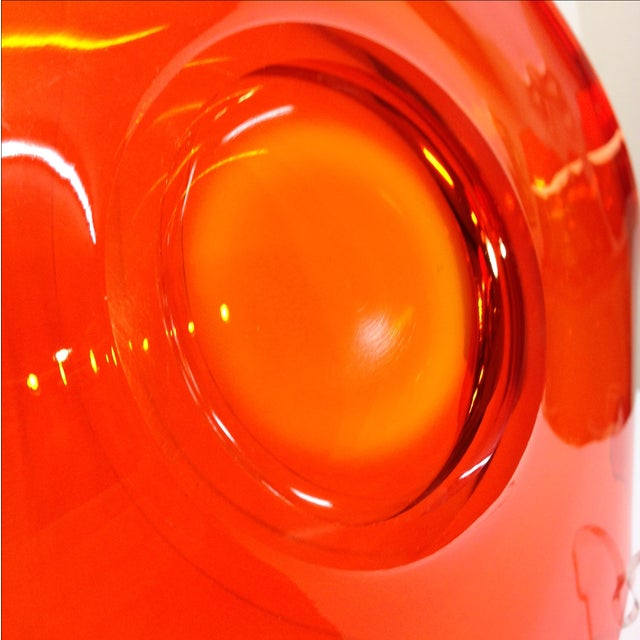 """Viking """"Epic"""" Orange Console Bowl - Image 4 of 4"""