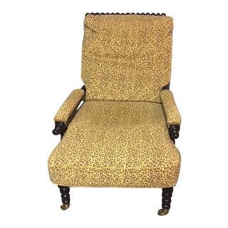 Animal Print Bobbin Chair
