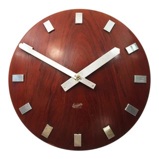 Mid-Century Wall Clock by LM Ericsson, 1962