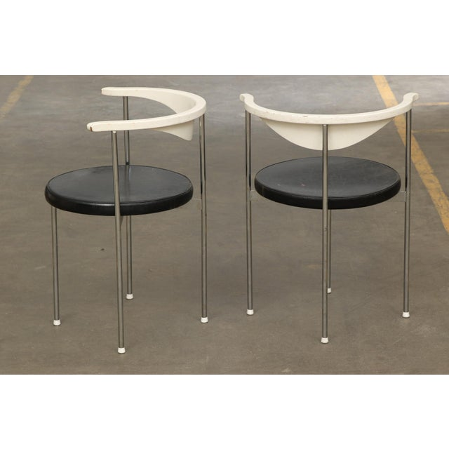 Frederik Sieck for Fritz Hansen Chairs - Set of 4 - Image 3 of 11
