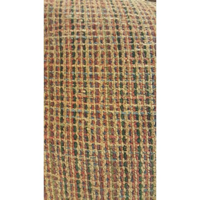 J.F. Fitzgerald Tweed Chair & Ottoman - Image 6 of 6